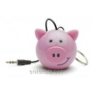 Колонка KitSound Mini Buddy Speaker Pig (KSNMBPIG), код 129488 фото