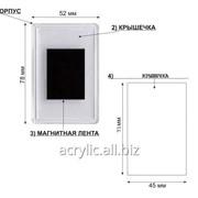 Заготовки акриловые прямоугольные для магнитов на холодильник, магниты акриловые фото