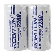 Аккумулятор ROBITON 2200MHSC-2 BL2 NI-MH для шуруповертов фото