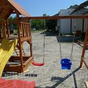 Игроовой комплекс Дружок, детская площадка с горкой фото