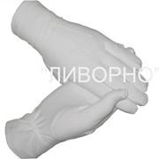 Перчатки мужские парадные х/б фото