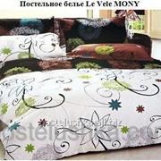 Комплект постельного белья Le Vele сатин MONY фото