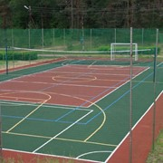 Услуги теннисных кортов. фото