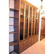 Книжный шкаф на заказ в алматы фото