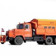 Комбинмрованная машина КрАЗ-65055 «Дорожник» фото