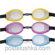 Детские очки для плавания Intex 55608 Голубой фото