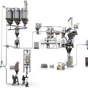 Линия дозирования сухих и жидких компонентов фото