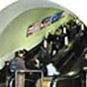 Реклама в метро: Щиты вдоль эскалаторов фото