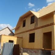 Экологичный дом. Дома каркасные деревянные фото