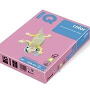 Бумага цветная iq color A4, 80г/м2, opi74-фламинго 500л. OPI74-80 фото