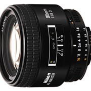Объектив Nikon AF Nikkor 85 f-1.8 D фото