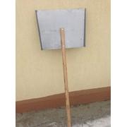 Лопаты снегоуборочные дюралюминиевые 500 на 375 фото