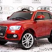 Детский электромобиль Audi Q5 красный с дистанционный управлением фото