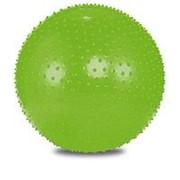Мяч гимнастический полумассажный Lite Weights 1855LW 55 см салатовый фото