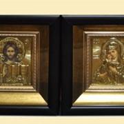 Иконы венчальные №29 - Владимирская Венчальная пара фото