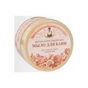 Натуральное сибирское мыло для бани ЦВЕТОЧНОЕ для ухода за телом и волосами, 500 мл. фото