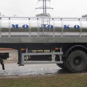 Полуприцеп-цистерна для перевозки молока фото