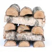Береза дрова уложенные (Сухие дрова в Киеве) фото