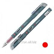 Ручка гелевая, erichkrause megapolis, корпус серый, красные чернила EK17753 фото