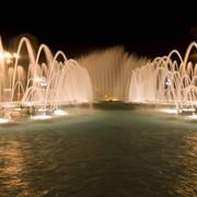 Проектирование и строительство светомузыкальных фонтанов фото