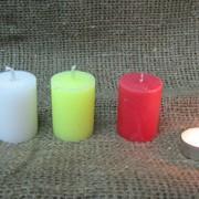 Свеча столбик 36х50 фото