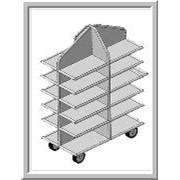 Тележка-стеллаж для транспортировки пищевых продуктов и фармацевтических препаратов. ВВ-СПК 3 фото