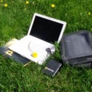 Сумка-зарядка для ноутбука фото