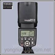 Ручная мануальная накамерная фотовспышка Yongnuo YN-560II вспышка YN560II фото