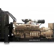 Дизельный генератор 2000 кВт Aksa ACQ 2500 фото