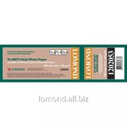 Бумага рулонная 105g/m2,Matte 1067mm*45m 42 /A0+ Lomond L1202053 фото