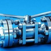 Кран ручной проходной шаровый КРП для установки на трубопроводах, транспортирующих неагрессивные газообразные среды с температурой до 100°С., на линиях технического контроля и т.п. фото
