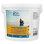 Комби-таблетки против водорослей Aquablank O2 CHEMOFORM фото