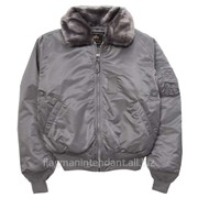 Куртка зимняя - серый цвет фото