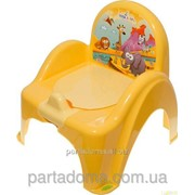 Горшок-кресло Tega веселка sf-10 сафари желтый фото
