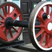 Ремонт вагонных колесных пар фото
