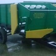 Кормораздатчик тракторный полуприцепной КТП-6 фото