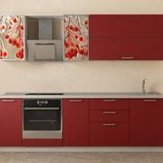 Линейная кухня №5 фото