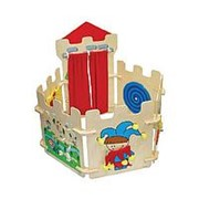 ИА Тактильный игровой Замок фото