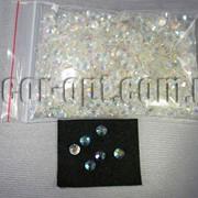 Стразы круглые перл. AB 6,5мм 50 гр/≈1000шт 5226 фото
