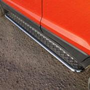 Пороги Ford Ecosport 2013-2017 (с площадкой 42 мм) фото
