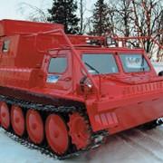 Гусеничный снегоболотоход ГАЗ-34039-32 (-33) лесопожарный фото