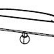 CARDHOLDER-VL 50 мм для шарнирных ценникодержателей, черный фото