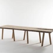 Винтаный обеденный стол фото