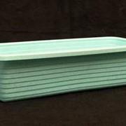 Ящик пластиковый для цветов фото