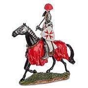 Статуэтка Конный рыцарь крестоносец/Олово 8х10х3см. арт.WS-828 Veronese фото