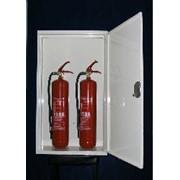 Шкафчики для огнетушителей. фото