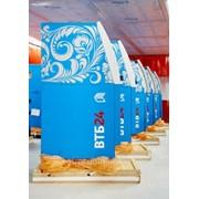 Оклейка банкоматов самоклеющейся пленкой. фото