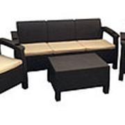 Комплект мебели Yalta Terrace Set Max (Triple Set) с подстаканниками фото