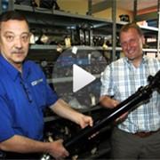 Производство карданных валов (опоры валов) фото