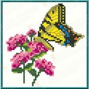 Набор для вышивания крестом На цветках КТК - 6001 фото